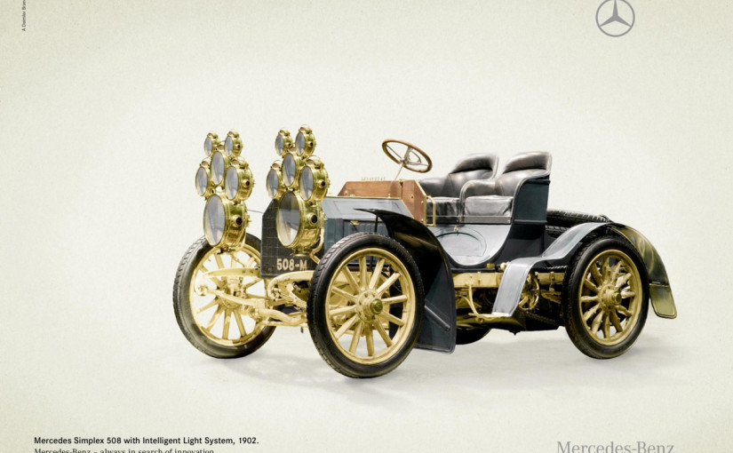Mercedes: Innovation bei Oldtimern